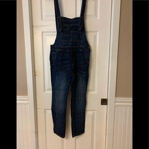 Free people denim overalls